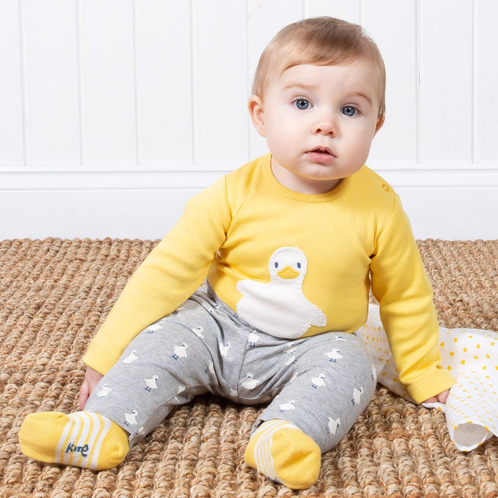 Kite Polka duck leggings