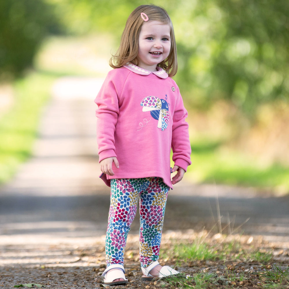 Kite Ladybird ditsy leggings