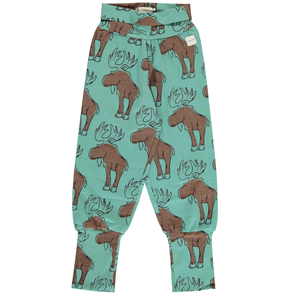 Maxomorra Pants Rib MIGHTY MOOSE - little-yu-boutique - Trousers