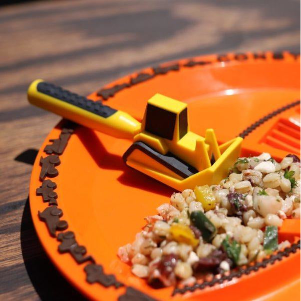 Constructive Eating - Set of 3 Construction Utensils