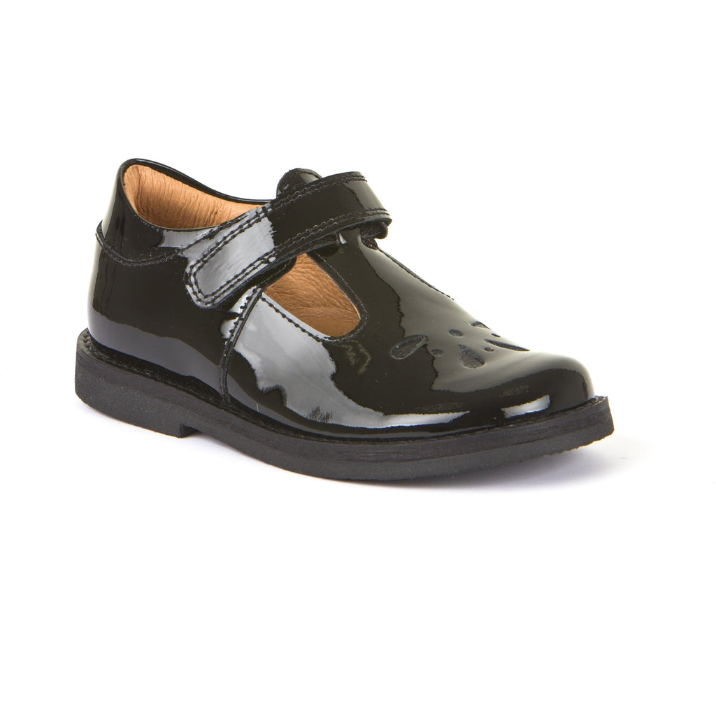 Froddo Children's Black Patent