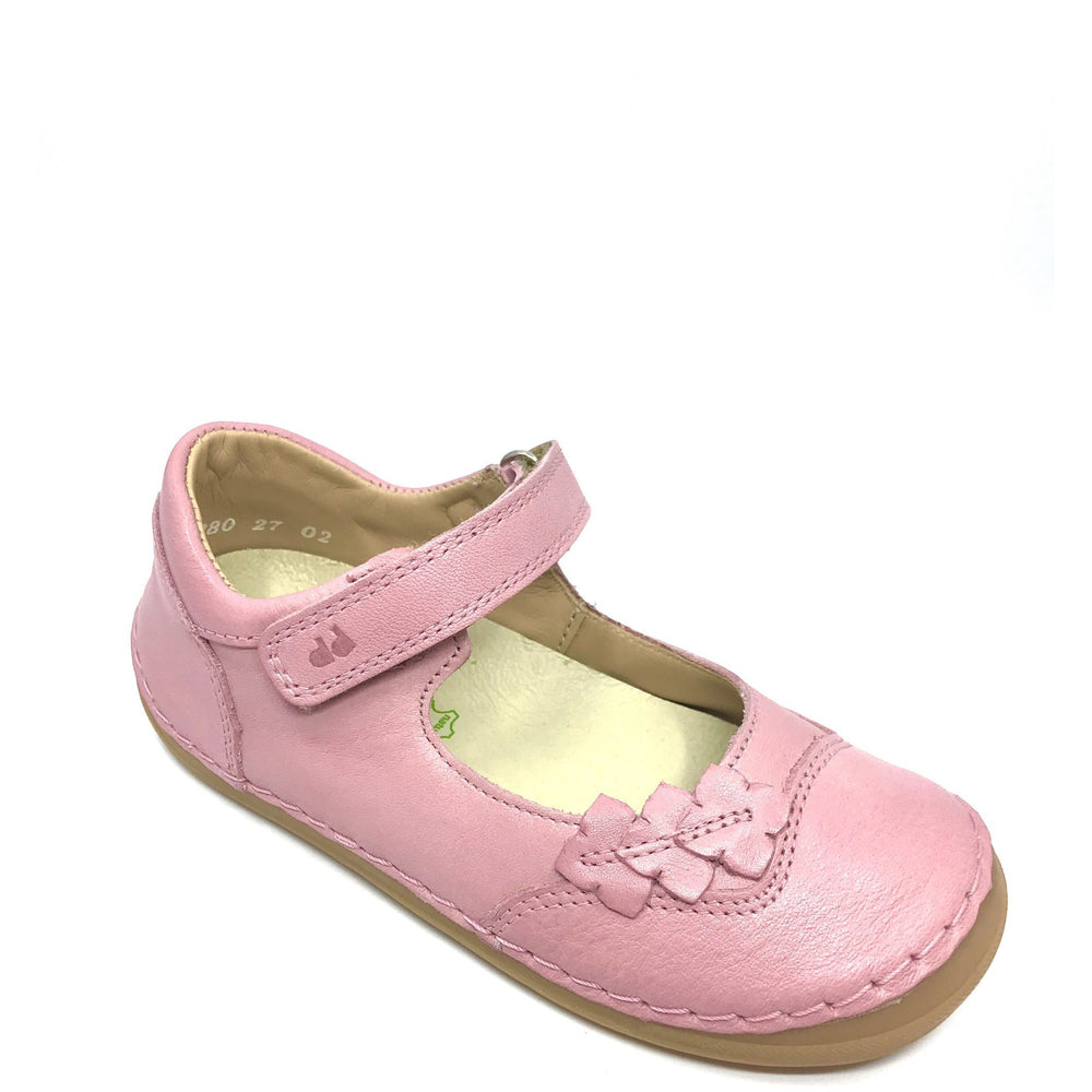 Froddo Pink Ballerina leather shoes