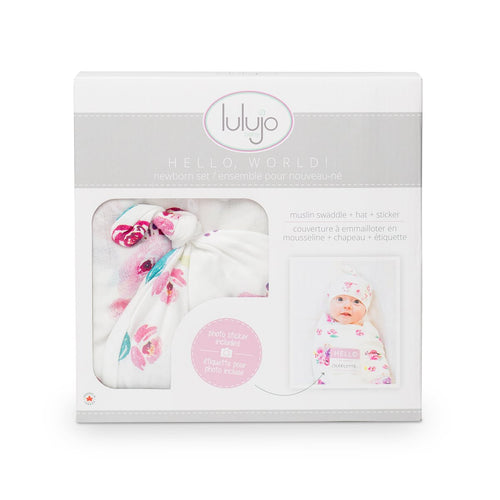 Lulujo -  Posies - little-yu-boutique - photo blanket and cards set