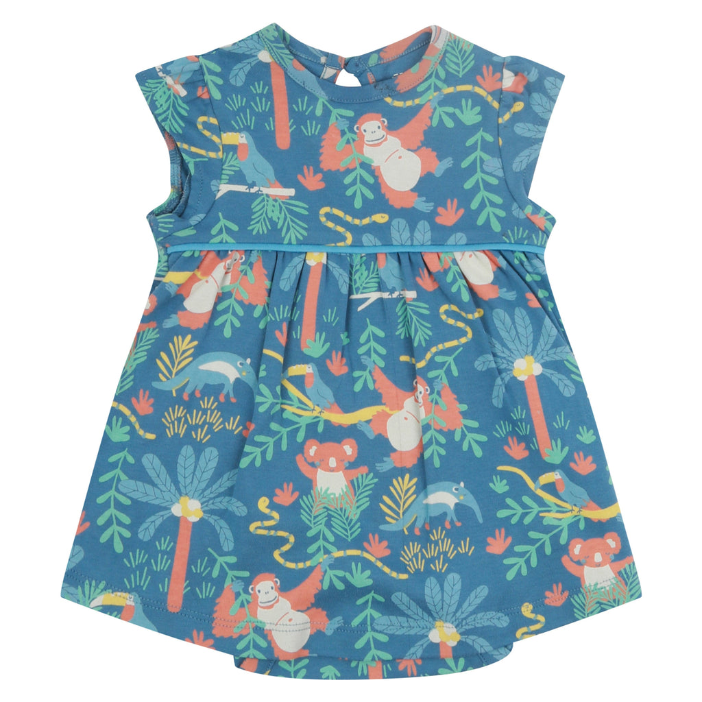 Piccalilly Baby Body Dress - Rainforest
