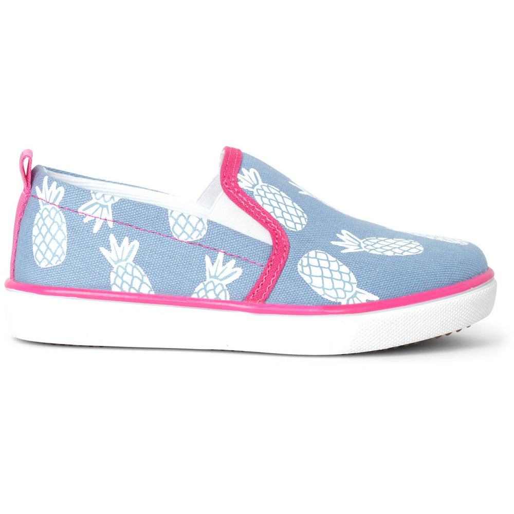 Hatley Girls's slip on sneaker Chaussures Sport Sans Lacet