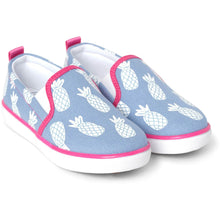 Load image into Gallery viewer, Hatley Girls's slip on sneaker Chaussures Sport Sans Lacet