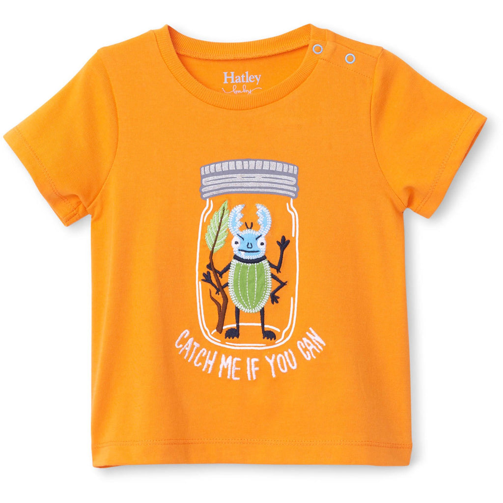 Hatley Beetle Buddy Baby Graphic Tee