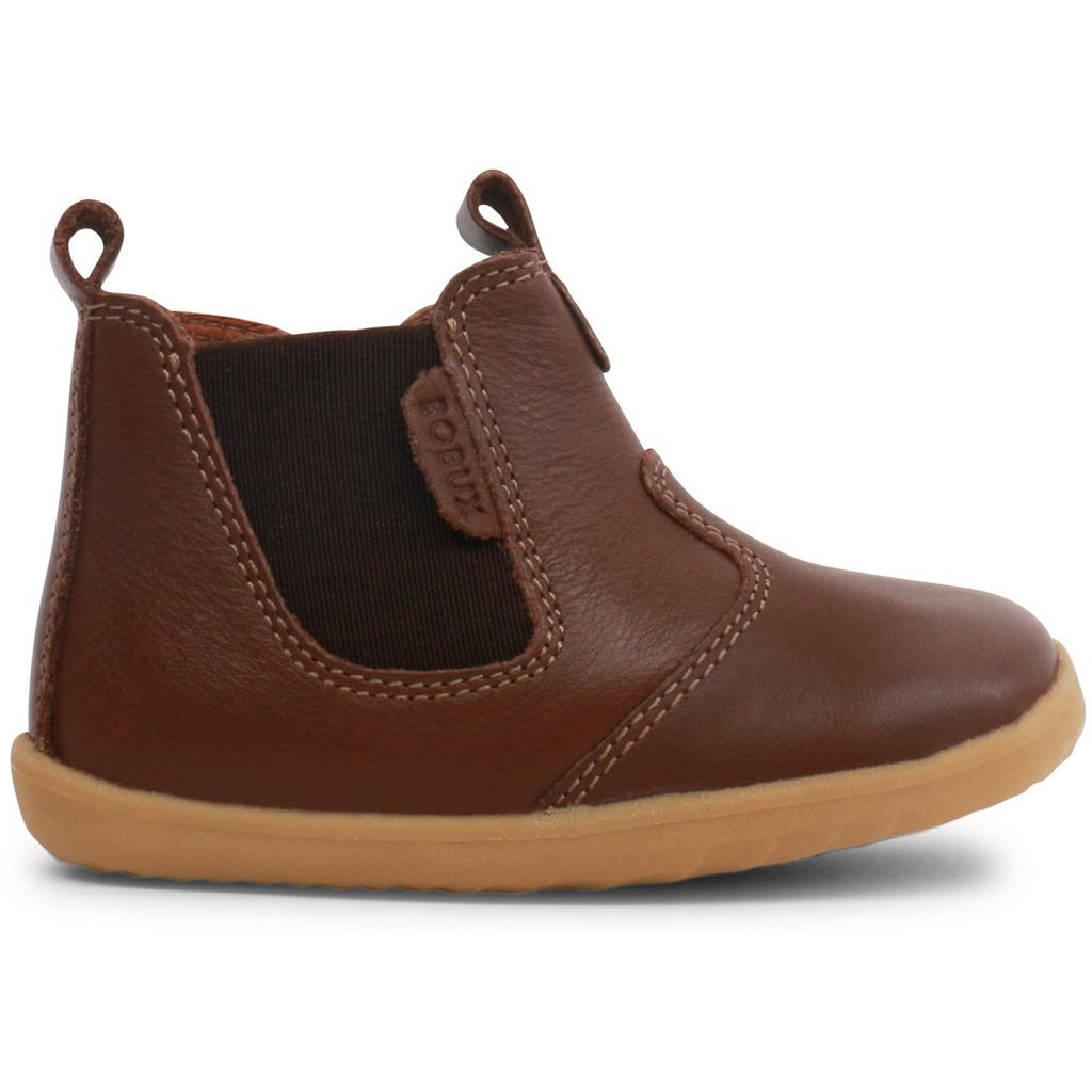 Bobux Unisex Jodhpur Toffee Boots - little-yu-boutique - baby shoes