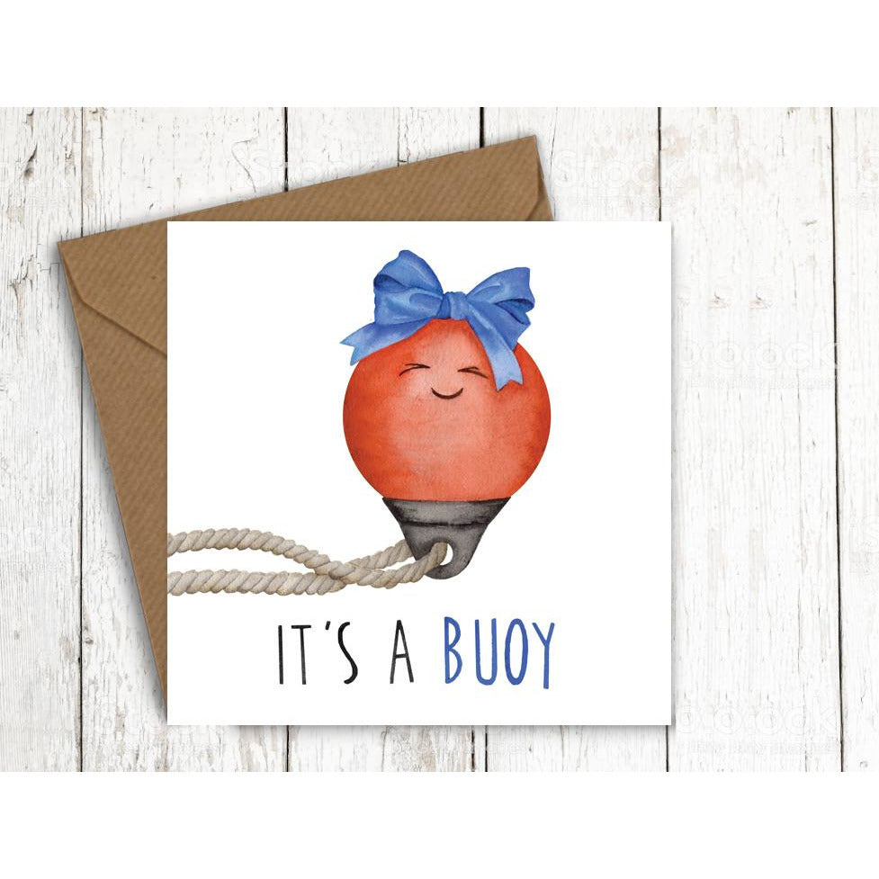 Citrusbunn Funny New Born Congratulations Card