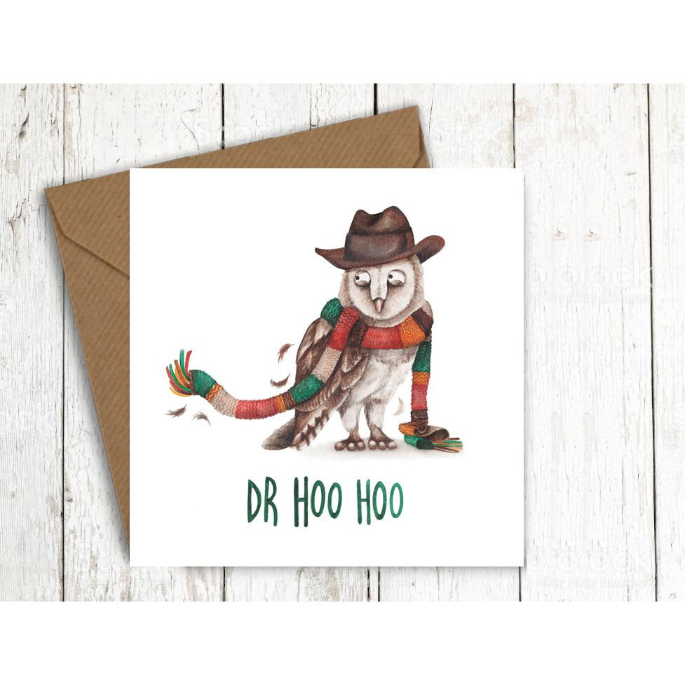 Citrusbunn Doctor Hoo Hoo Birthday Card