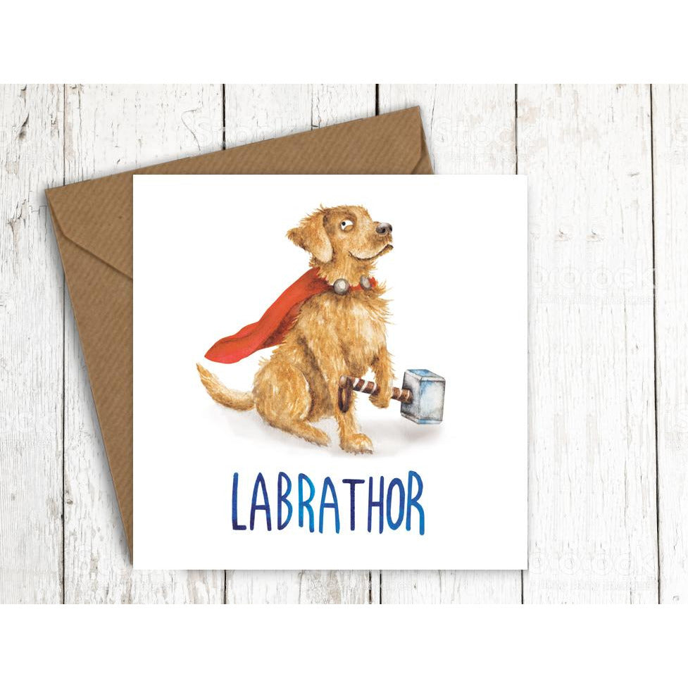 Citrusbunn Funny Labrathor Birthday Card