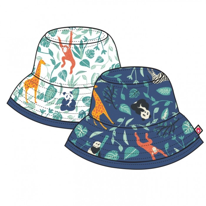 Piccalilly Reversible Hat - Wildlife