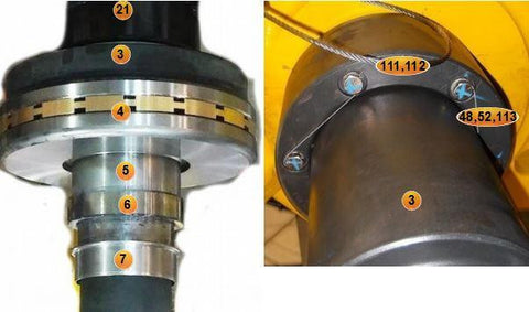 BEARING, CYLINDRICAL, ROLLER, MAIN LOWER