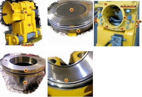 BODY, CLAMP CYLINDER