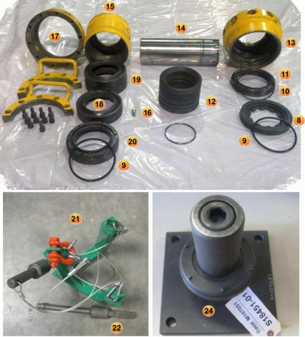 SYSTEM, BLAK JAK WASHPIPE CARTRIDGE WITH HANGER AND TOOLS, 5000 PSI