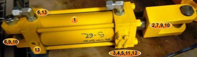 PIN, CLEVIS, CYLINDER, COUNTERBALANCE