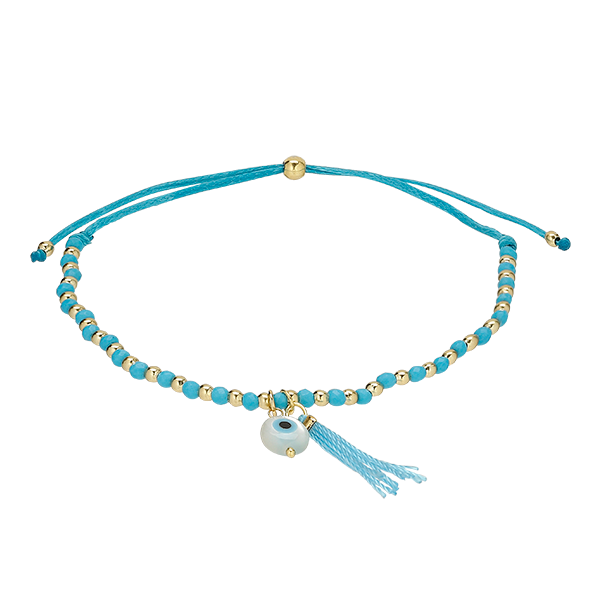 Light Blue Carousel Bracelet