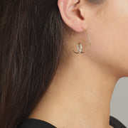Clear Fire Earring