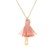 Pink Carousel Necklace