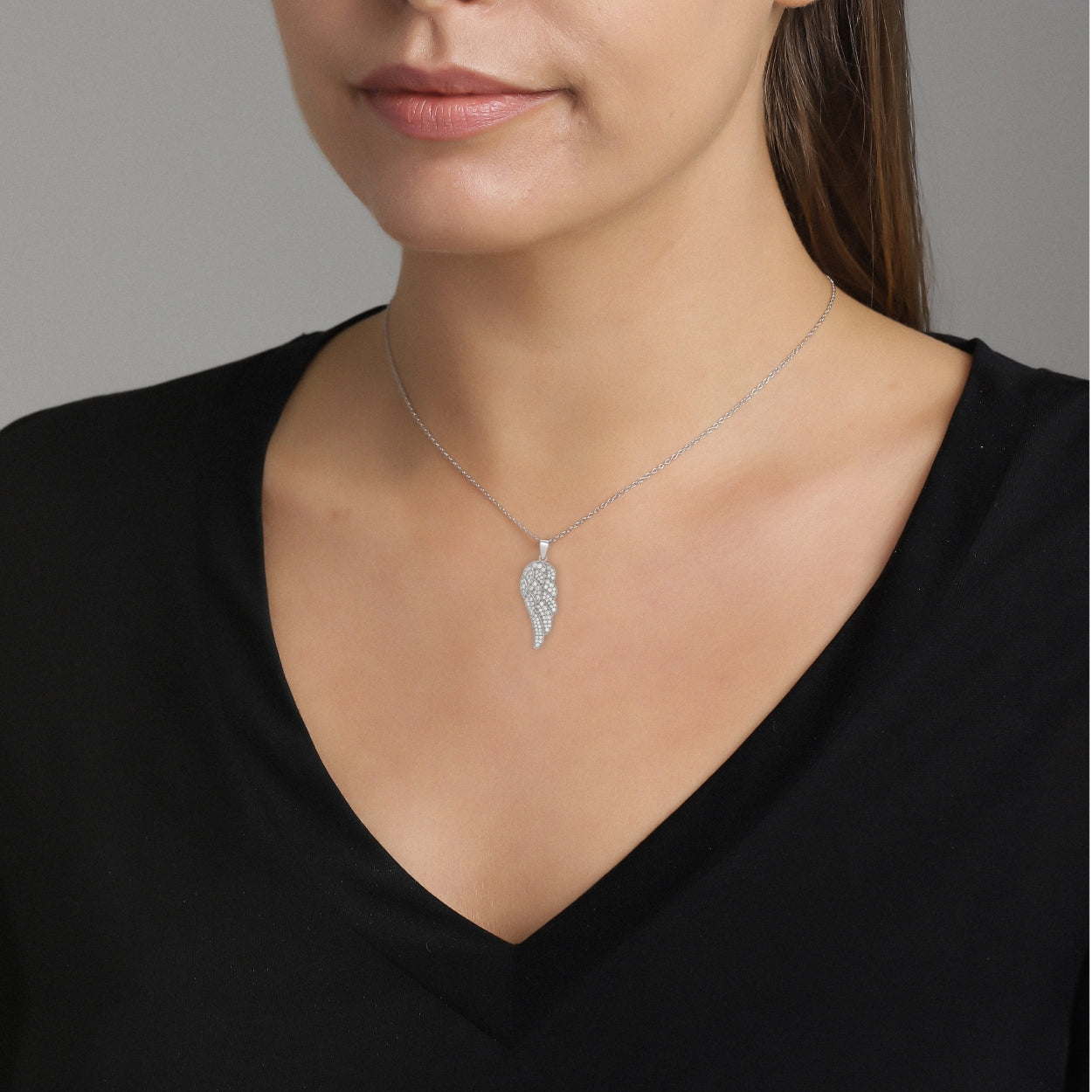 Clear Faith Necklace