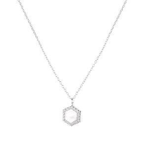 Clear Icon Necklace