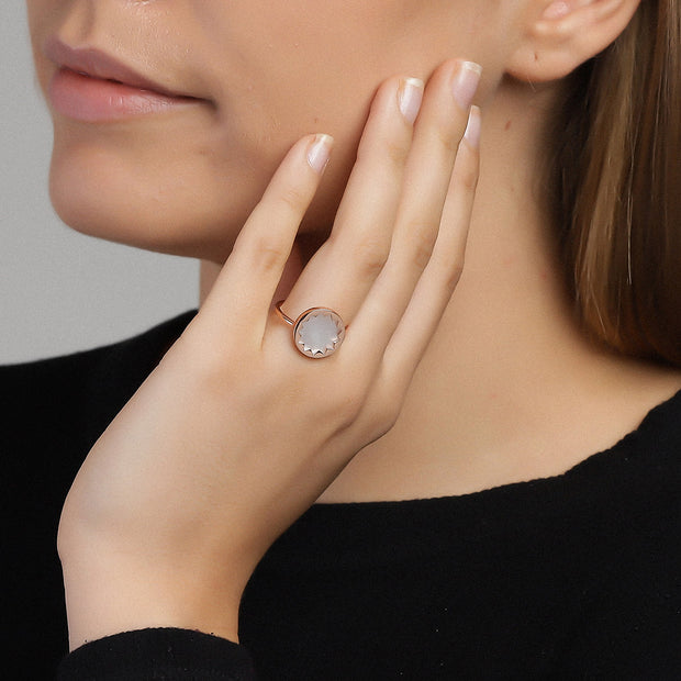 White Harmony Ring