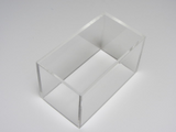 Plexiglashaube 3-seitig transparent: 4 mm  Art-Nr.: 3-side-clear_0A000_04