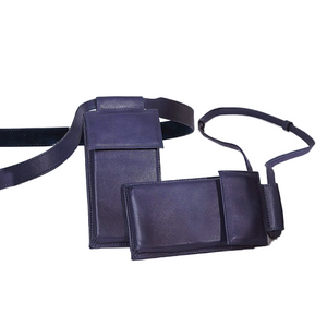 Paz Azul Shoulder Bag