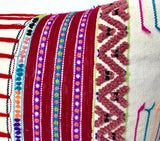 Extra Large Embroidered Cushion