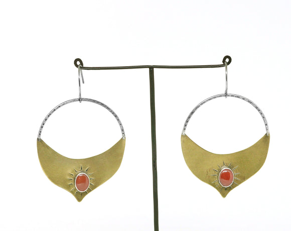 Madrasa Earrings by Claire Sommers Buck