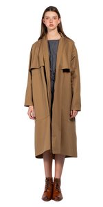 Cromo II Trench Coat by Simple By Trista