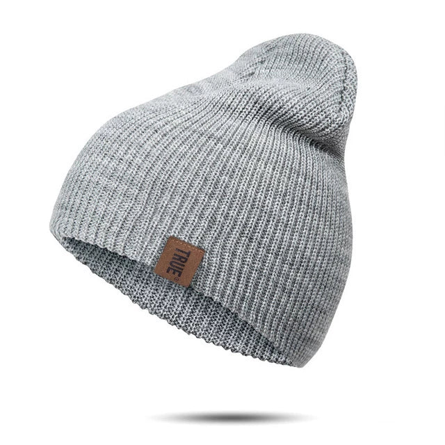 True Beanie - Grey - Beanie Street