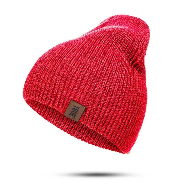 True Beanie - Red - Beanie Street