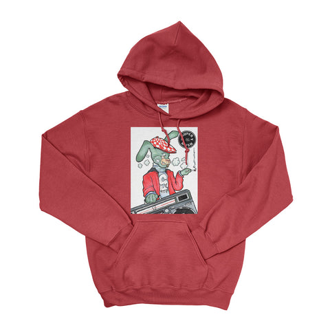 Bricks the Rabbit Hoodie-Hoodies-SuperKushCo