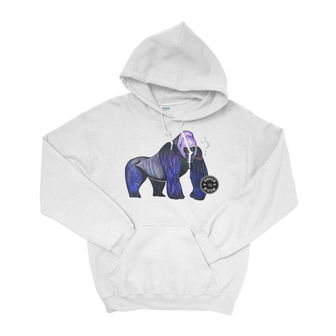 Grape Ape Silver Back Hoodie-Hoodies-SuperKushCo
