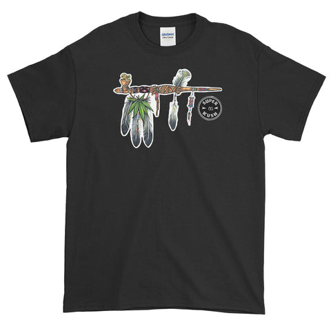 Peace Pipe Tee-Tees-SuperKushCo
