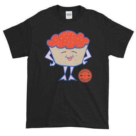 Red Miss Cupcake Tee-Tees-SuperKushCo