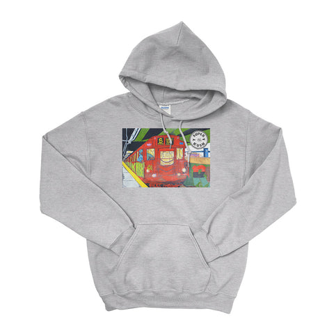 The Subway Hoodie-Hoodies-SuperKushCo