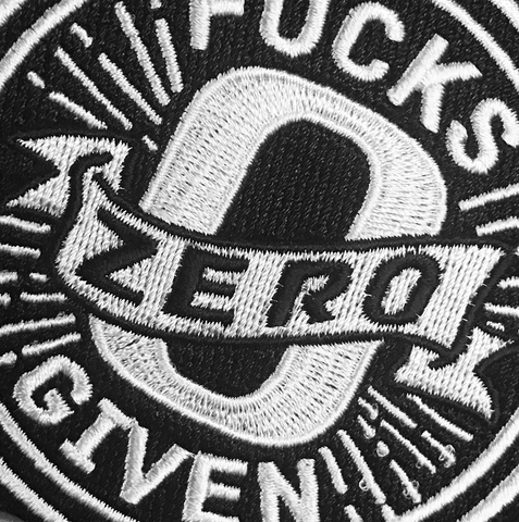 Zero Fucks Given Patch