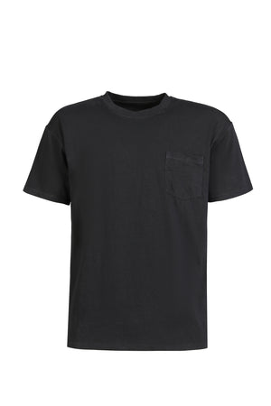 Cotton Tee with pocket