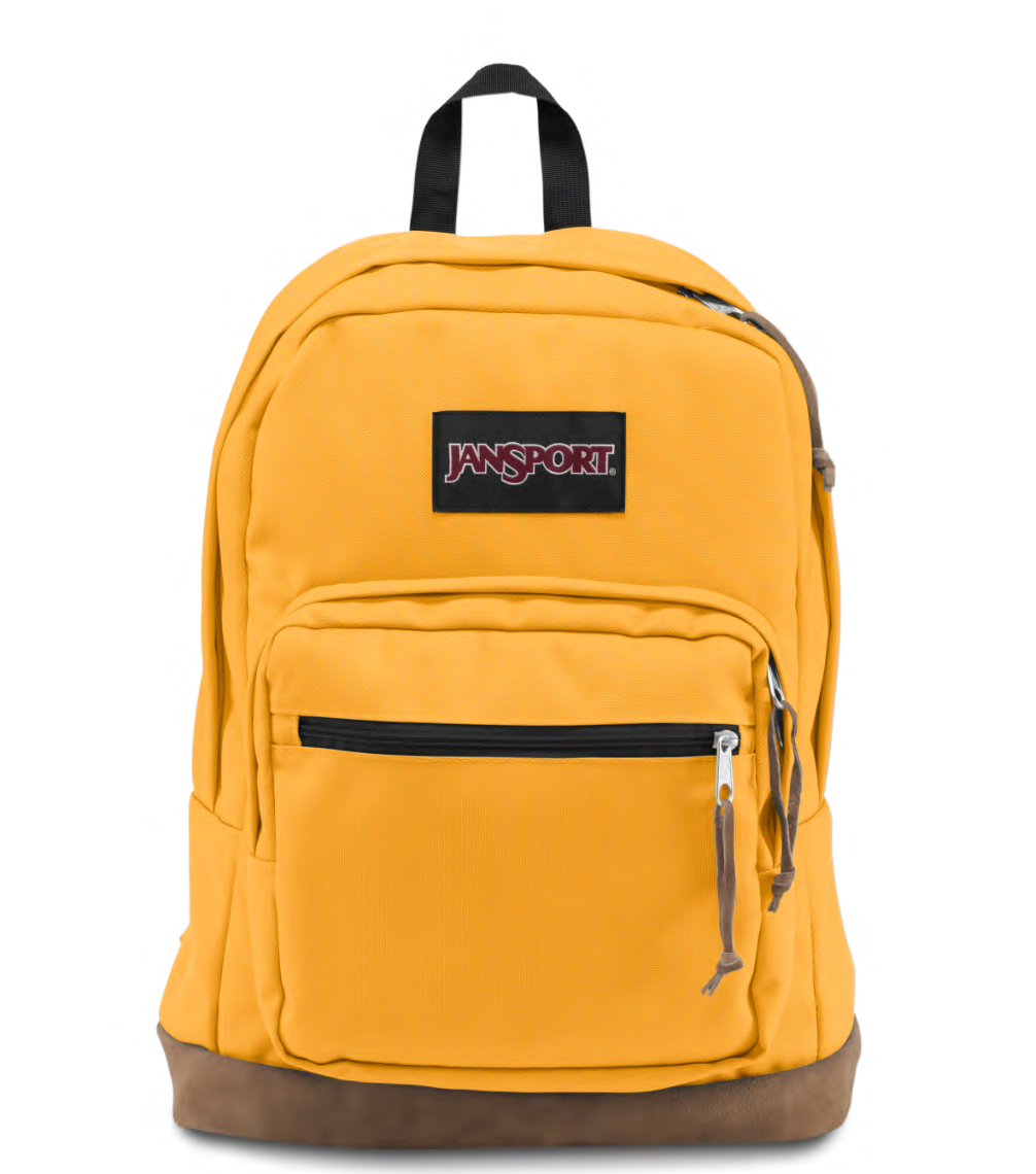 RIGHT PACK BACKPACK - English Mustard