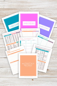 Instant Pot Recipe Binder Printables