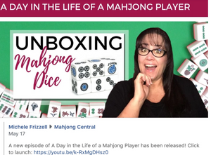 Michele Frizzell's Mahjong Dice™ unboxing!