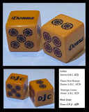 Customized Pair of Limited Edition Bakelite Mahjong Dice