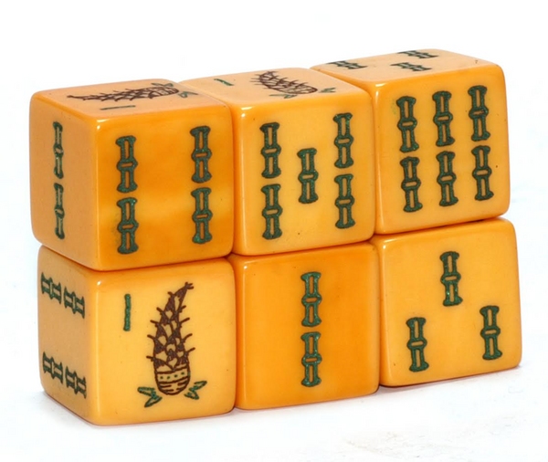 Sprout Bamboo Bakelite Limited Edition Mahjong Dice™