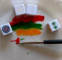 Paint your own Mahjong Dice™