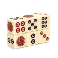 Jokerless Lotus Ivory Mahjong Dice™