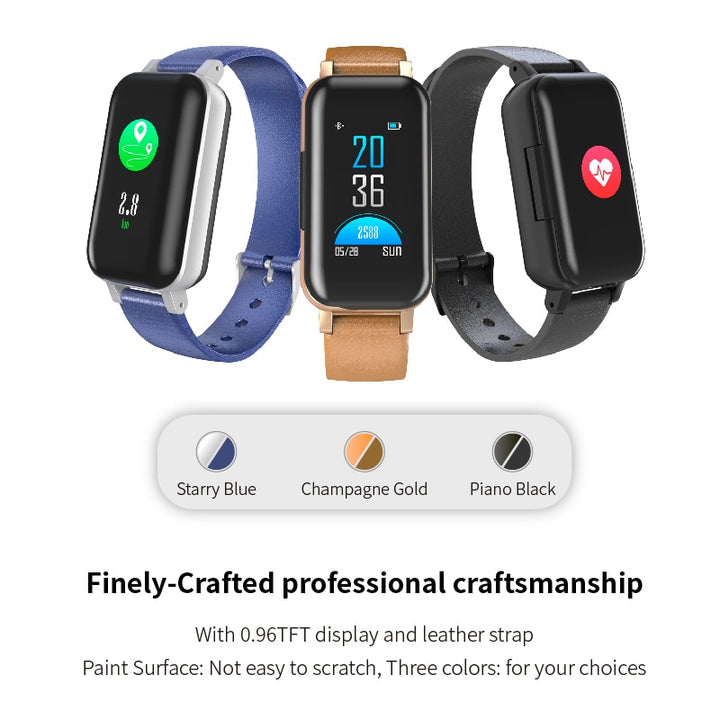 T89 Smart Watch With Bluetooth Earphone