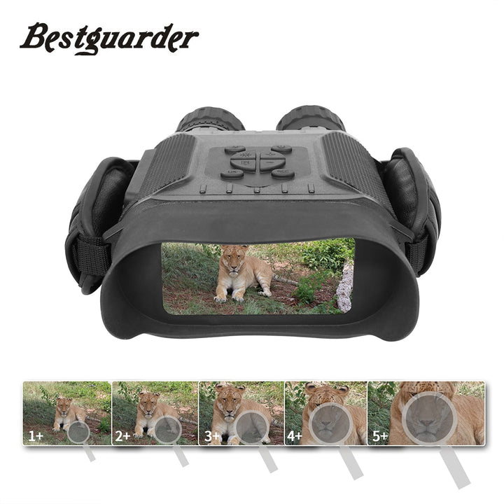 Bestguarder Night Vision Time Lapse Hunting Binoculars
