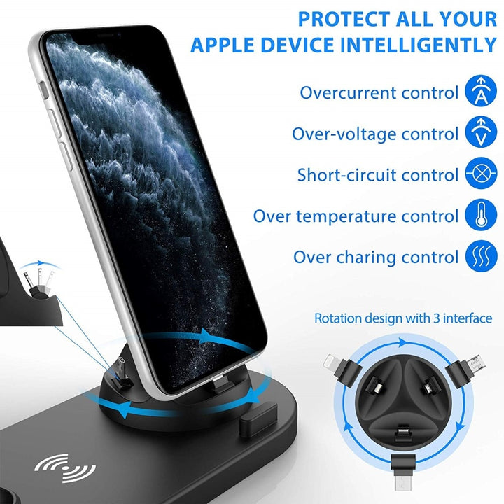 4 in 1 Wireless Charging Dock Station For All Apple Products